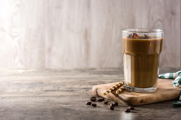 Ijskoffie of caffe latte