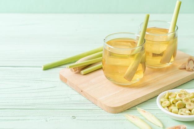 Ijskoud citroengras sap