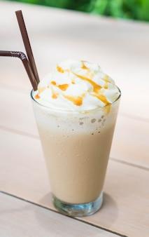 Ijskoude cappuccino koffie