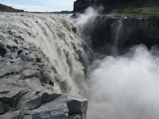 Ijslandse waterval water