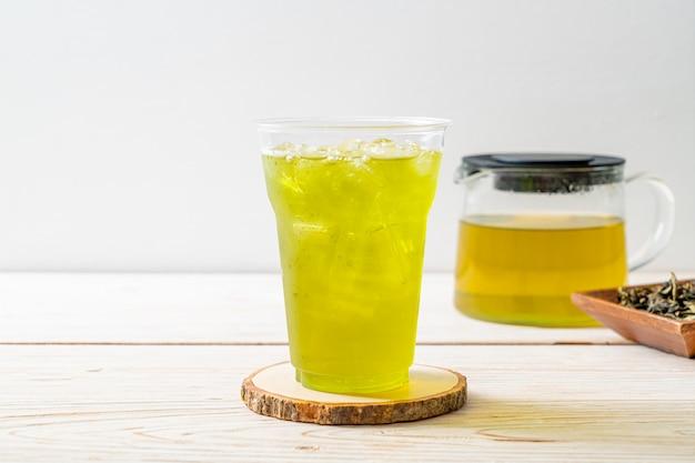Ijsthee japanse groene thee