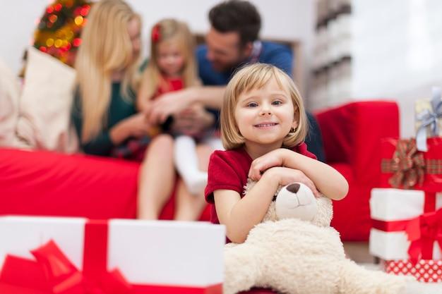 Ik breng graag kersttijd door met mijn gezin
