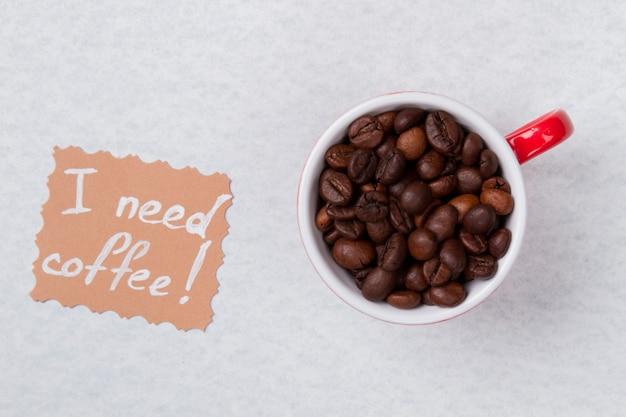 Ik heb koffieconcept nodig