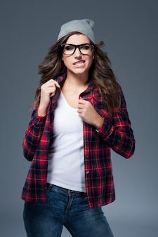 Ik hou echt niet van het dragen van een bril