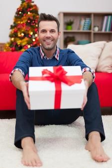 Ik hou ervan om met kerstmis verrassingen te maken