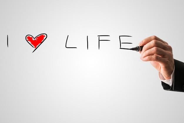 Ik hou van het leven