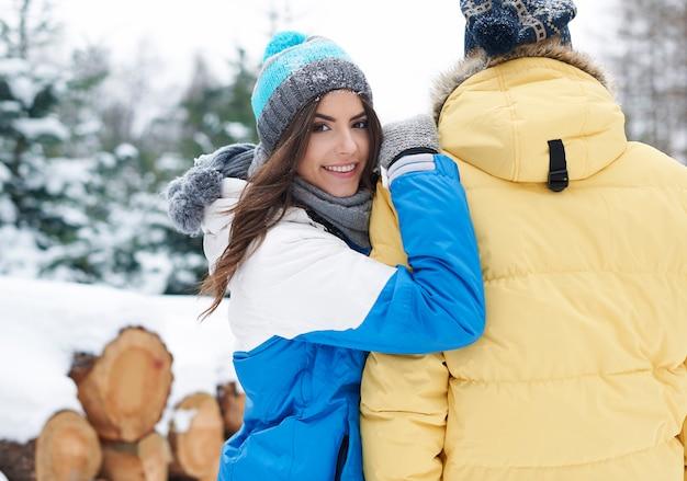 Ik ontmoette mijn eerste liefde in de winter