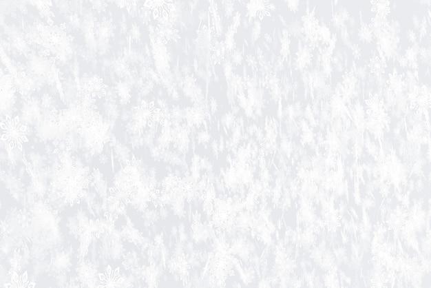 Illustratie op het thema van de nieuwe 3d illustratie van de jaarsneeuwval