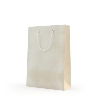 Illustreren van een papieren zak