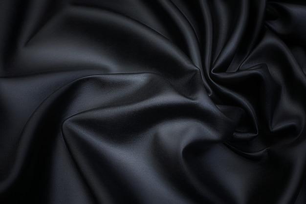Imitatieleer in zwart textuur, achtergrond, tekening, patroon