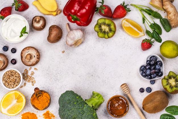 Immuniteit versterkt voedsel