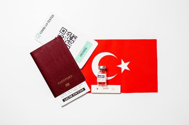 Immuniteitspaspoort om te reizen tijdens lockdown in turkije