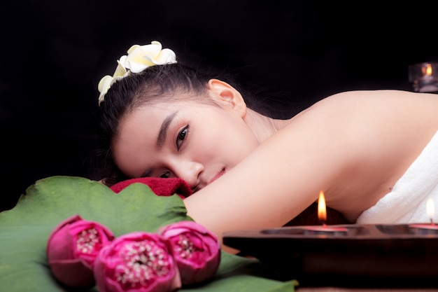 In beauty spa