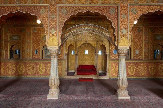In het junagarh-fort in bikaner