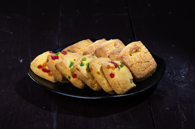 Indian bakery food nan khatai snacks