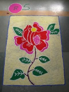 Indian rangoli diwali, kunst