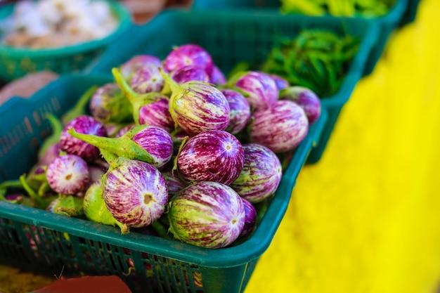 Indiase groentenmarkt