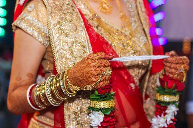 Indiase huwelijksceremonie