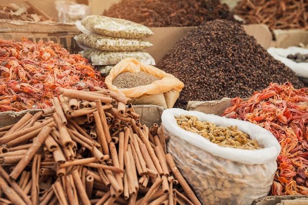 Indiase kruidenmarkt