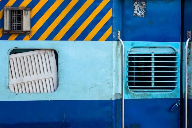 Indiase trein tweede klas coach