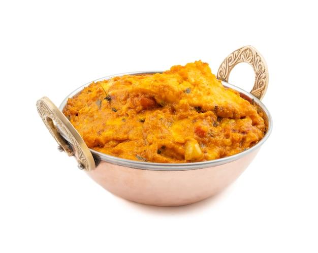 Indiase vegetarische keuken speciale zoete en pittige paneer pasanda