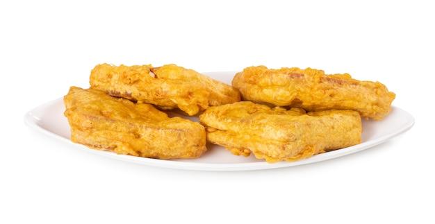 Indische populaire theetijd snack brood pakora