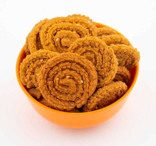Indische traditionele snackchakli