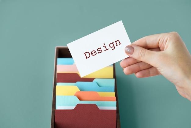 Individualiteit identiteit creatief ontwerp logo creatie