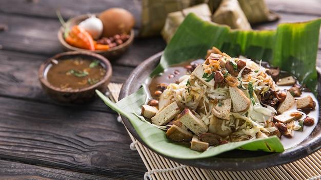 Indonesisch traditioneel culinair gerecht