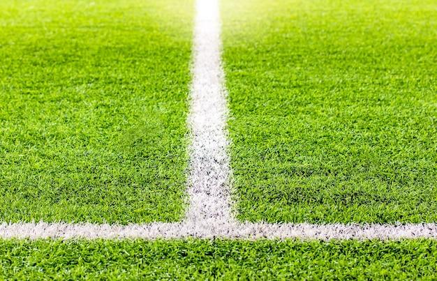 Indoor voetbal, voetbalveld kunstgras
