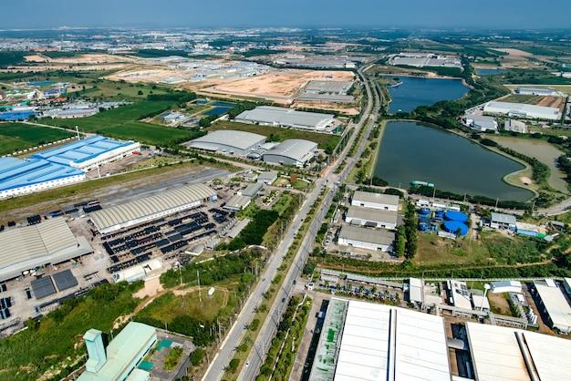 Industrieel landgoed landontwikkeling waterreservoir