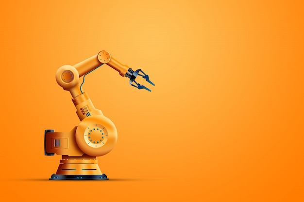 Industriële robotmanipulator