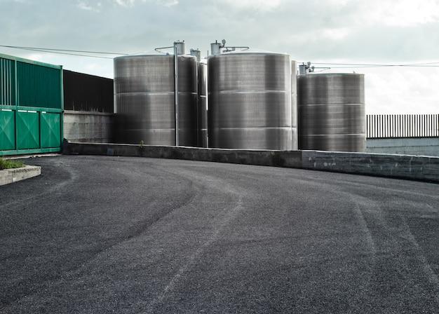 Industriële silo's