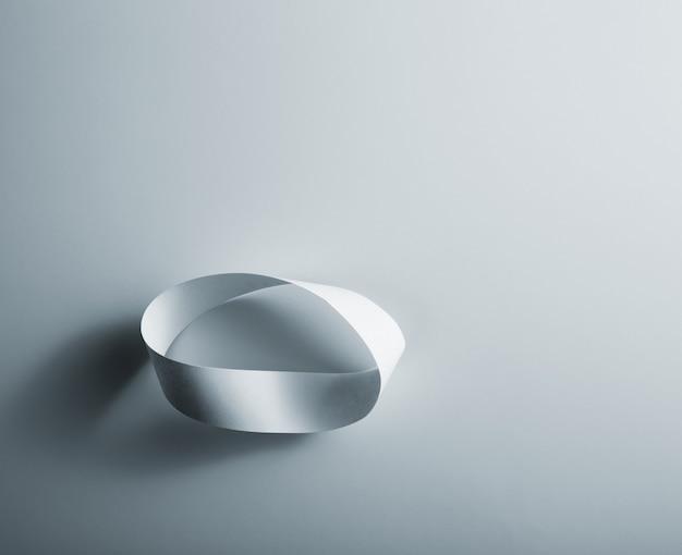 Infinity papieren ring