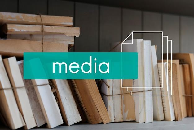 Informatie entertainment media tijdschrift artical