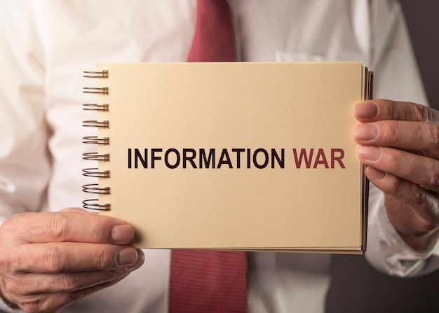 Informatie oorlog oorlogsvoering tekst iw in beleidsconcept