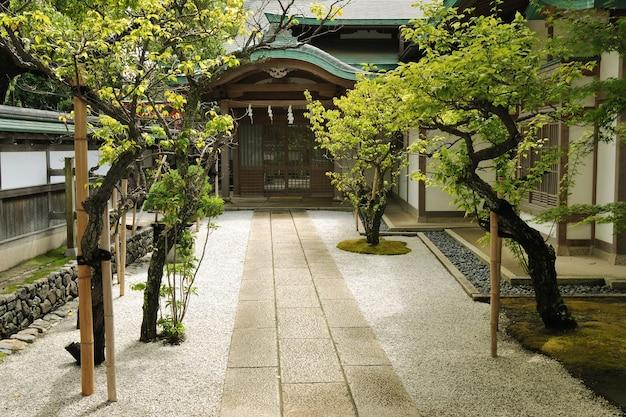 Ingang van de boeddhistische tempel