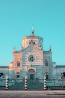 Ingang van de kathedraal van milano