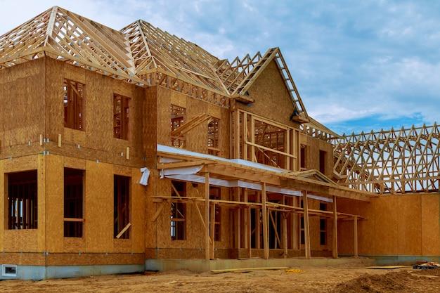 Ingelijst gebouw of woonhuis met basis