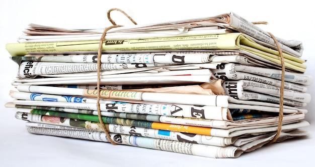 Ingepakte krant