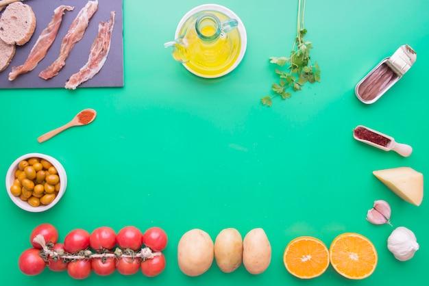 Ingrediënten typics van spanje