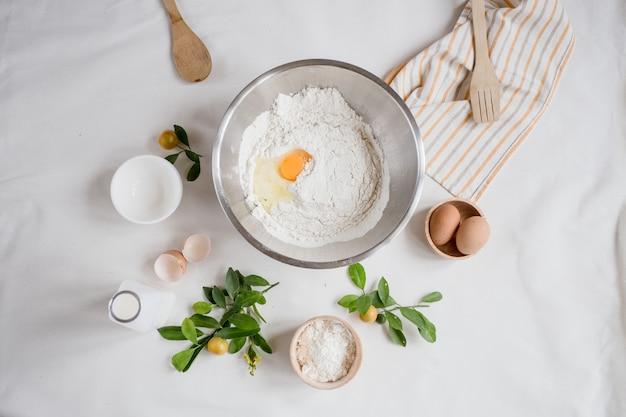 Ingrediënten voor crêpe