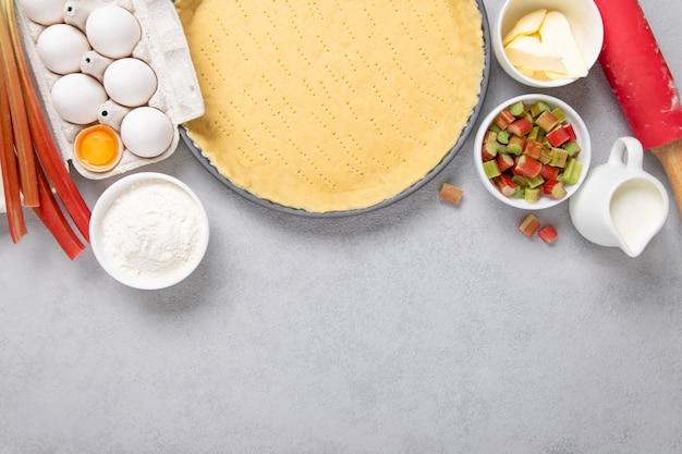 Ingrediënten voor een taart