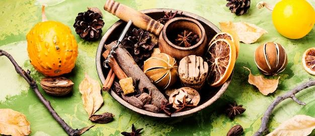 Ingrediënten voor glühwein