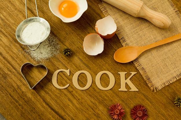 Ingrediënten voor koken