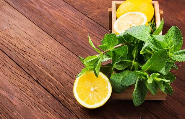 Ingrediënten voor limonade