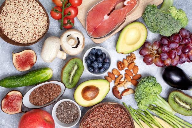 Ingrediënten voor pescarian dieet