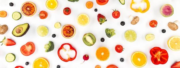 Ingrediënten voor sap en smoothie