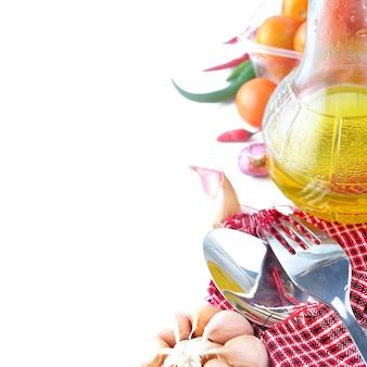 Ingrediëntmenu voor koken