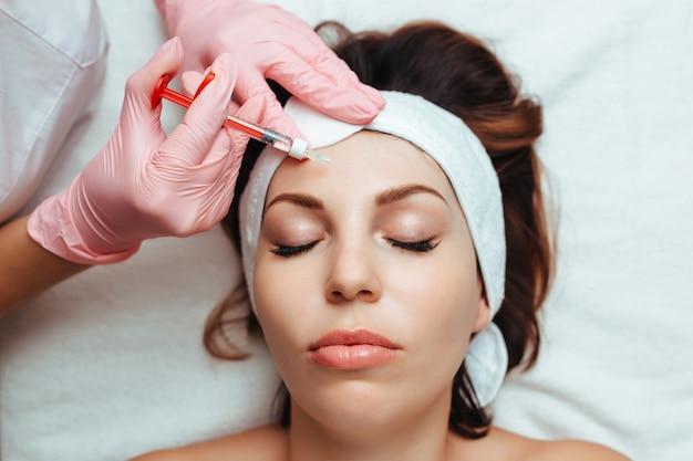 Injectie cosmetologie botox en fillers